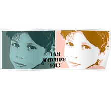 I am watching you! Poster