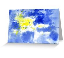Untitled Abstract 821-11 Greeting Card