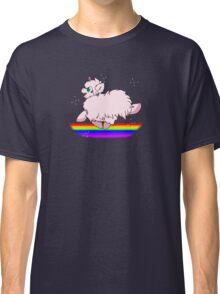 Pink Fluffy Unicorns Dancing on Rainbows Feat. Flufflepuff Classic T-Shirt