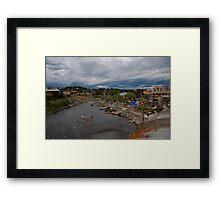 Overlooking Pagosa Springs, Colorado Framed Print