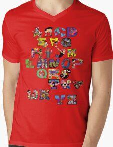 Saturday Morning Cartoons! Mens V-Neck T-Shirt