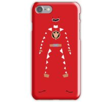 Power Rangers Dino Thunder Red Ranger iPhone Case iPhone Case/Skin