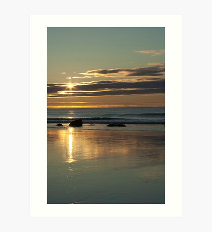 Dawning Of A New Day - White Point, Nova Scotia Art Print