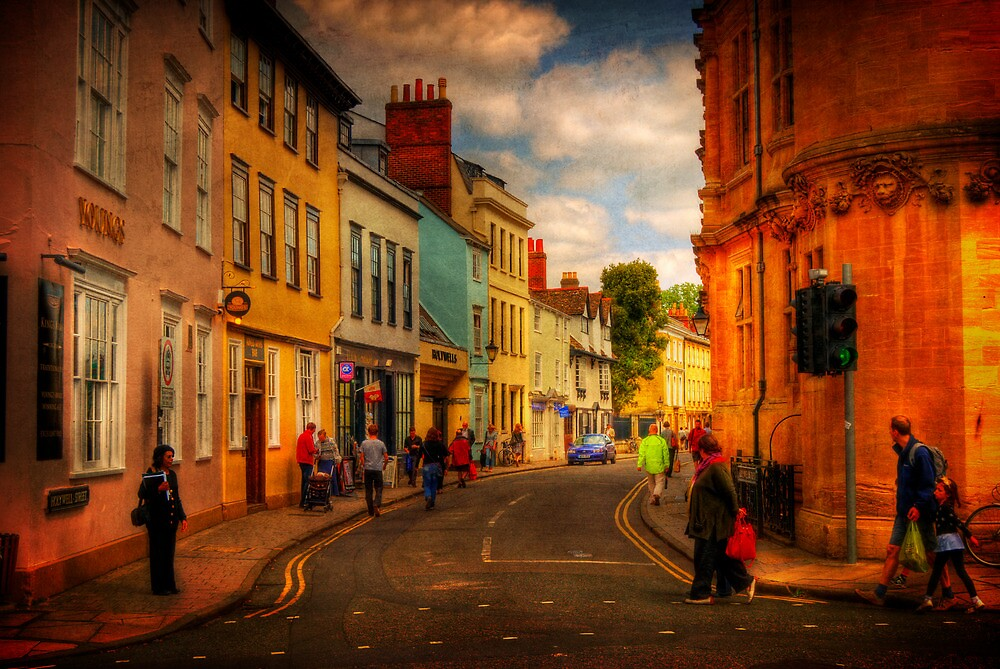 Holywell Street by ajgosling