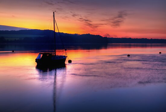 Dreamy Sunset by Adrian Evans