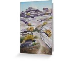 Hiking in Palm Springs Greeting Card