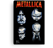 METALLICA CARICATURE Canvas Print