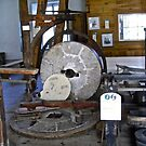Millstone at Watson's Mill, Manotick, ON Canada by Shulie1