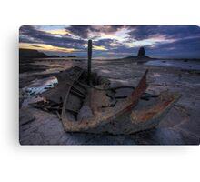 Shipwrecked - Admiral Von Tromp, Saltwick Bay, Yorkshire Canvas Print