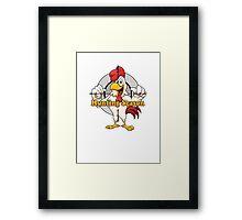 Gay Cock Hunting Framed Print