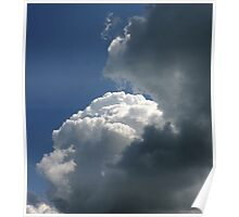 cloud formation Poster