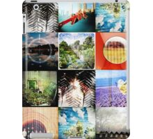 double exposure, double vision iPad Case/Skin