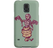 Mummy and old ribbon for Halloween Samsung Galaxy Case/Skin
