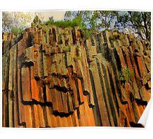 Sawn Rock Mt Kaputar Ranges, Narabri NSW Poster