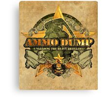 Ammo Dump iPhone case Canvas Print
