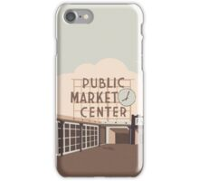 Pikes Place iPhone Case/Skin