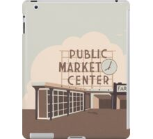Pikes Place iPad Case/Skin