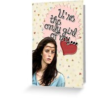 The Maze Runner Greeting Cards [Teresa] Greeting Card