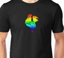 Gay Rainbow Cock t-shirt Unisex T-Shirt