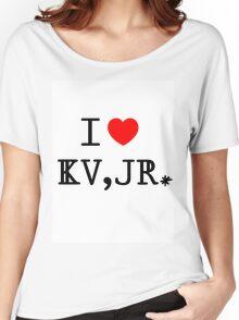 I Heart Kurt Vonnegut, Jr. Women's Relaxed Fit T-Shirt