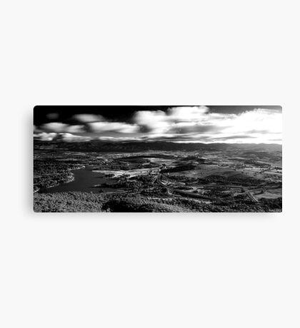 B+W HDR Canberra landscape Canvas Print