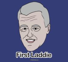 Bill Clinton for First Laddie by shirtual