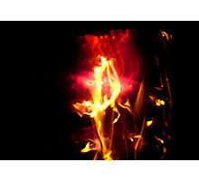 Fire Flowers Seem Settled Photographic Print