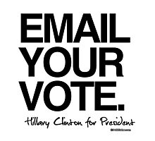 Email your vote Photographic Print