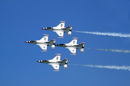 United States Air Force Thunderbirds by Marija