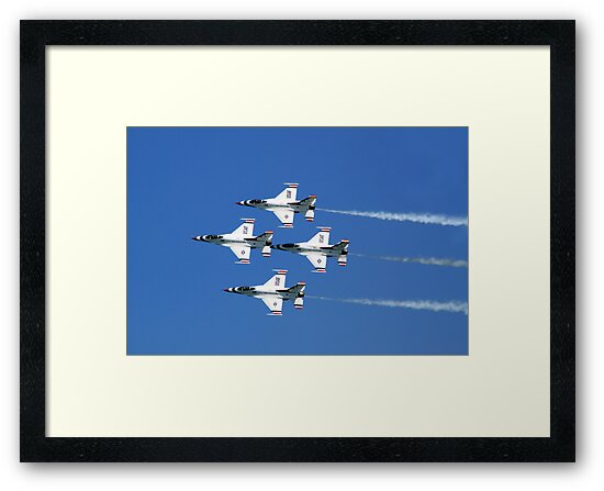 United States Air Force Thunderbirds by Marija