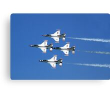 United States Air Force Thunderbirds Canvas Print