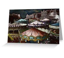 Carousels Greeting Card