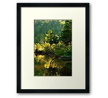 Lac Sainte Marie I Framed Print