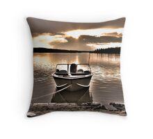 Pierce Lake Throw Pillow