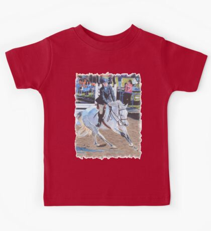 Determination - Horseshow T-Shirt or Hoodie Kids Tee