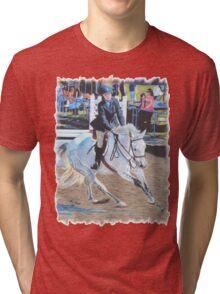 Determination - Horseshow T-Shirt or Hoodie Tri-blend T-Shirt