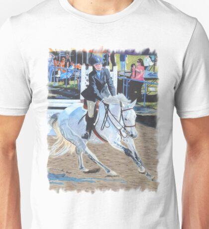 Determination - Horseshow T-Shirt or Hoodie Unisex T-Shirt