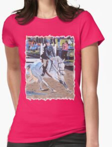 Determination - Horseshow T-Shirt or Hoodie Womens Fitted T-Shirt