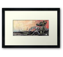Part 36 - ENDGAME - The final Pawn Falls... Framed Print