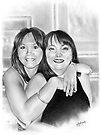 Belinda & Donna by Simon Aberle
