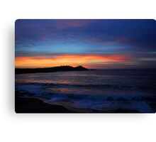 Carmel Sunset Canvas Print