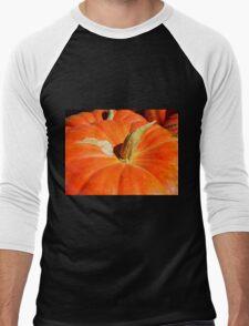Orange For Fall Men's Baseball ¾ T-Shirt