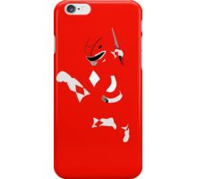 Mighty Morphin Red Ranger iPhone Case iPhone Case/Skin