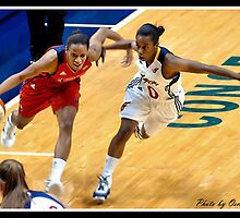 Indiana Fever vs Mysics Basktball 1 by Oscar Salinas