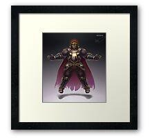 Ganondorf Framed Print