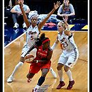 Indiana Fever vs Mysics Basktball 4 by Oscar Salinas