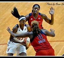 Indiana Fever vs Mysics Basktball 9 by Oscar Salinas
