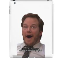 Andy Doesn't Know iPad Case/Skin