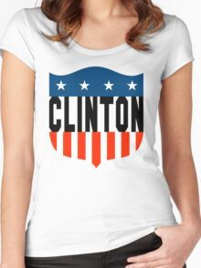 clinton : stars and stripes Women's Fitted Scoop T-Shirt