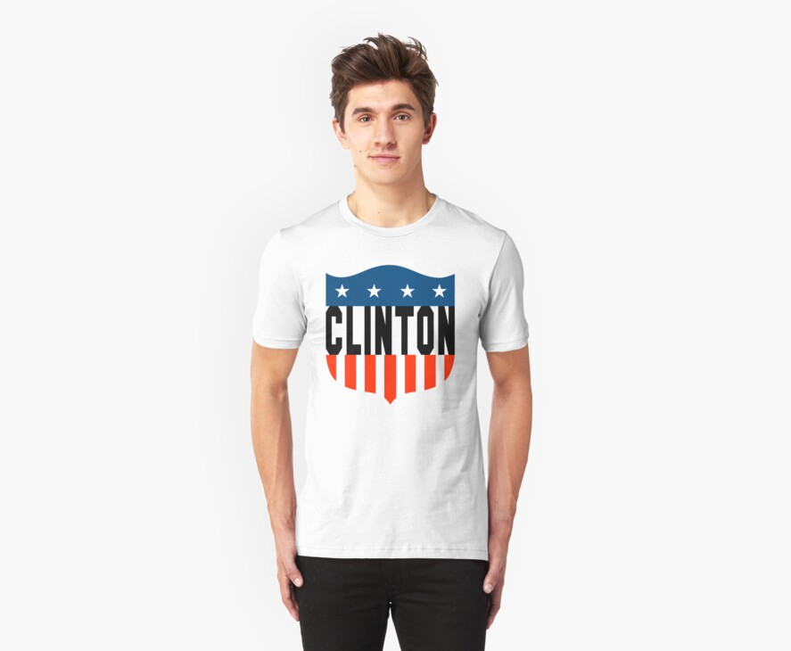clinton : stars and stripes by asyrum